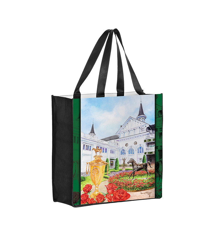 2019 Art of the Derby Totebag,Kentucky Derby 145-2019 Art of the Derby,AOTD TOTEBAG