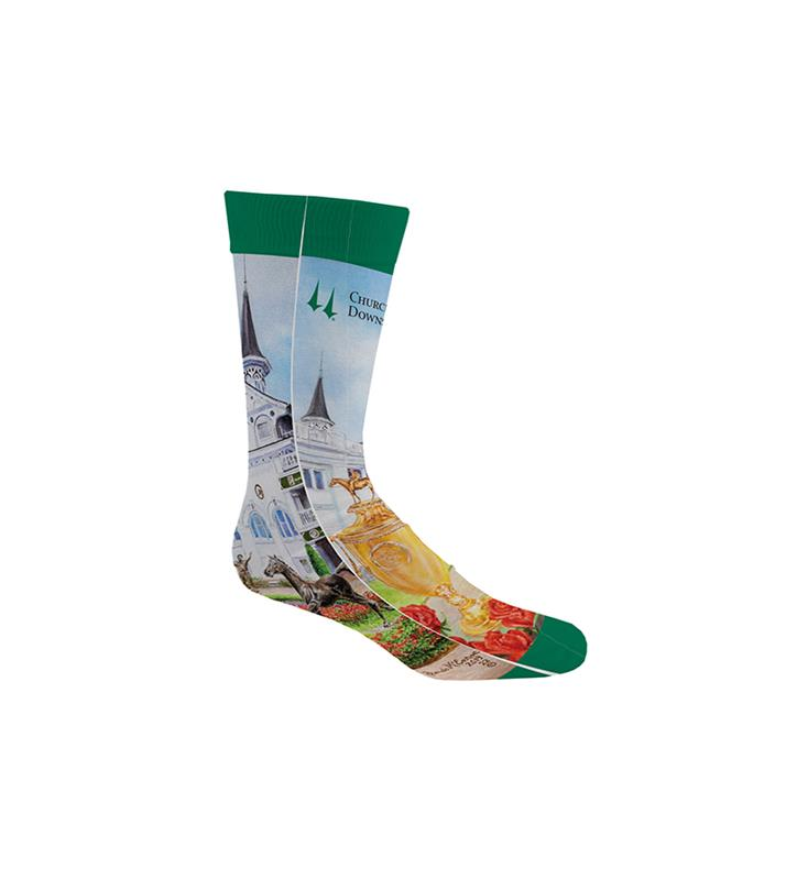 2019 Art of the Derby Dress Socks,Kentucky Derby 145-2019 Art of the Derby,AOTD SOCKS