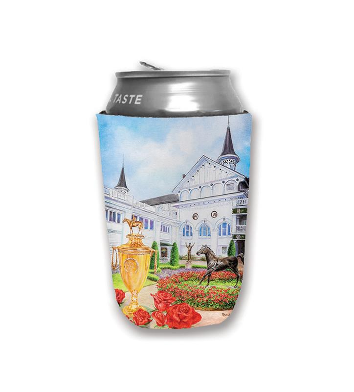 2019 Art of the Derby Can Coozie,Kentucky Derby 145-2019 Art of the Derby,AOTD KOOZIE