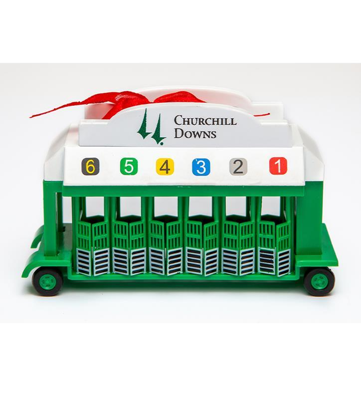 Churchill Downs Starting Gate Ornament,CD STARTING GATE