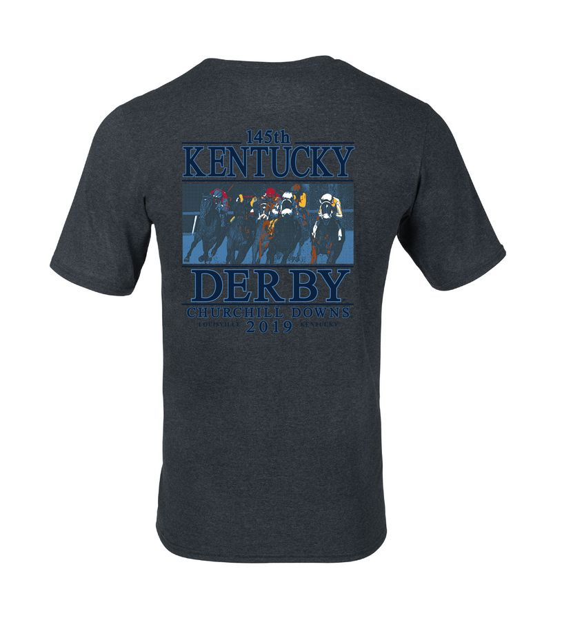 Kentucky Derby 145 First Turn Tee,64STTM0-145RA5-PRO17