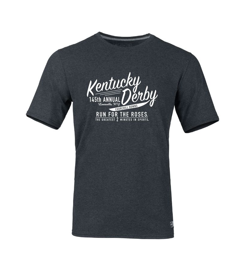 Kentucky Derby 145 Run For the Roses Tee,64STTM0145RA8-PRO3