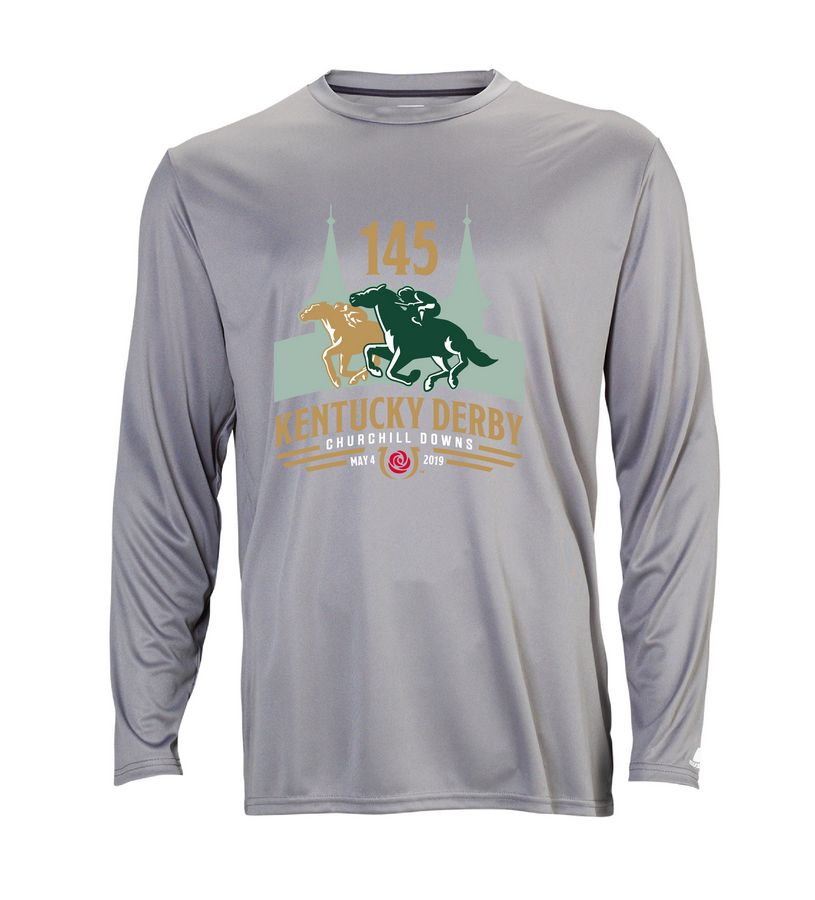 Kentucky Derby 145 L/S Performance Tee,631X2M1145RA22-145LO