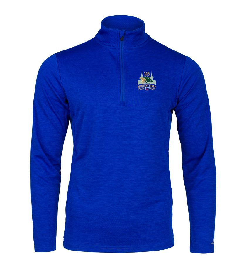 Kentucky Derby 145 Performance 1/4 Zip Pullover,Q27EAMO145RA25-145LO