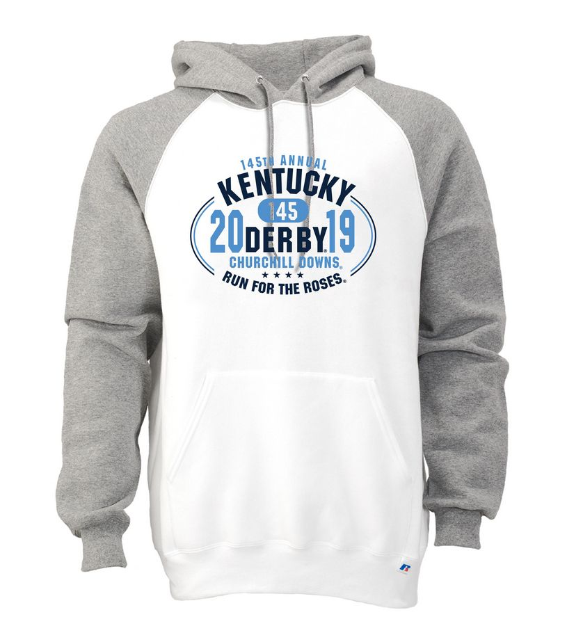 Kentucky Derby 145 Colorblock Hoodie,693HBMO145RA32-PRO4