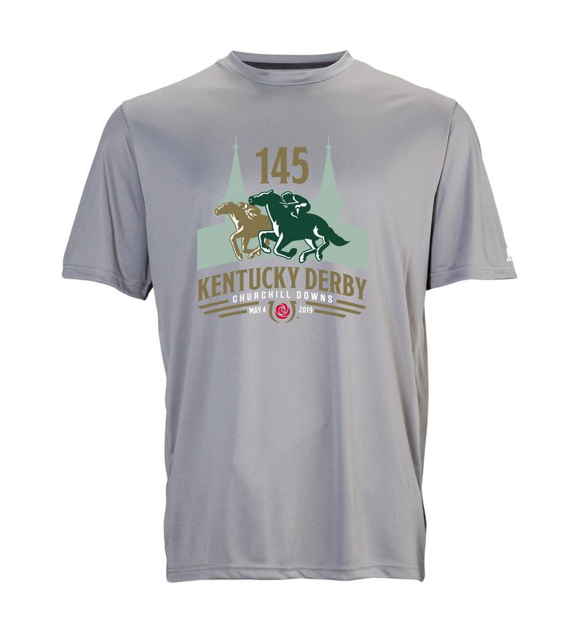 Kentucky Derby 145 Youth Performance Tee,629X2B1-145RA44-145L