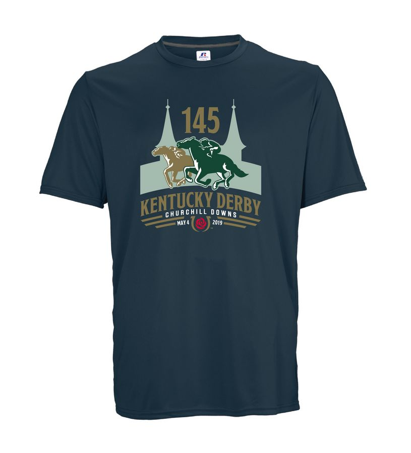 Kentucky Derby 145 Youth Performance Tee,629X2B1-145RA45-145L