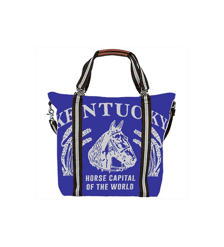 Kentucky Mary Ann Tote by Rebecca Ray,Rebecca Ray,RR3012-ROYAL