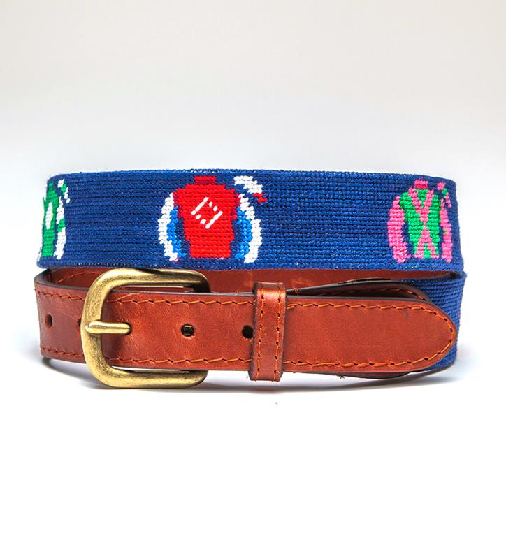 Jockey Silks Belt by Smathers & Branson,Smathers & Branson,SILKS BELT