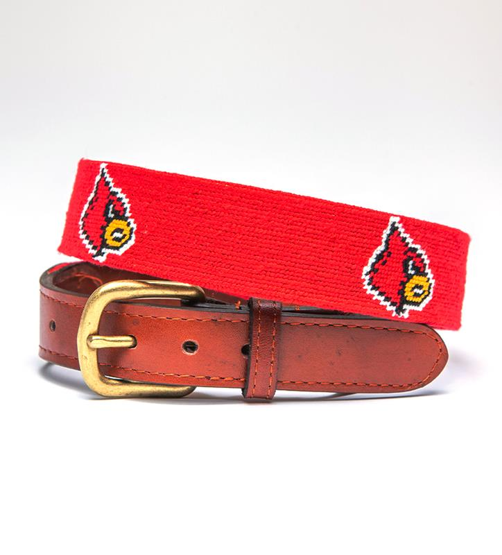 Louisville Cardinals Belt by Smathers & Branson,CARDINAL BELT