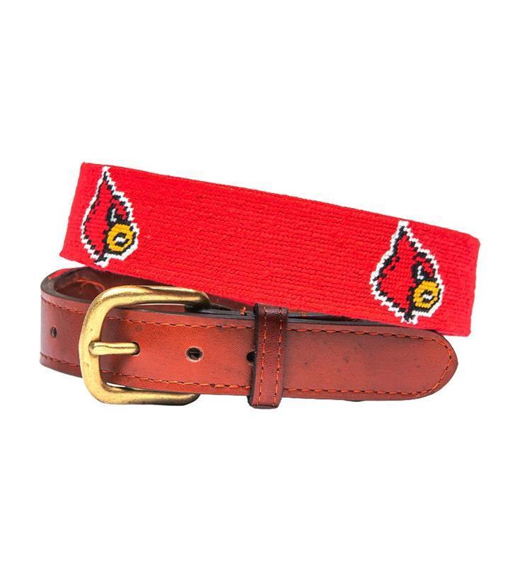 Louisville Cardinals Belt by Smathers & Branson,Smathers & Branson,CARDINAL BELT