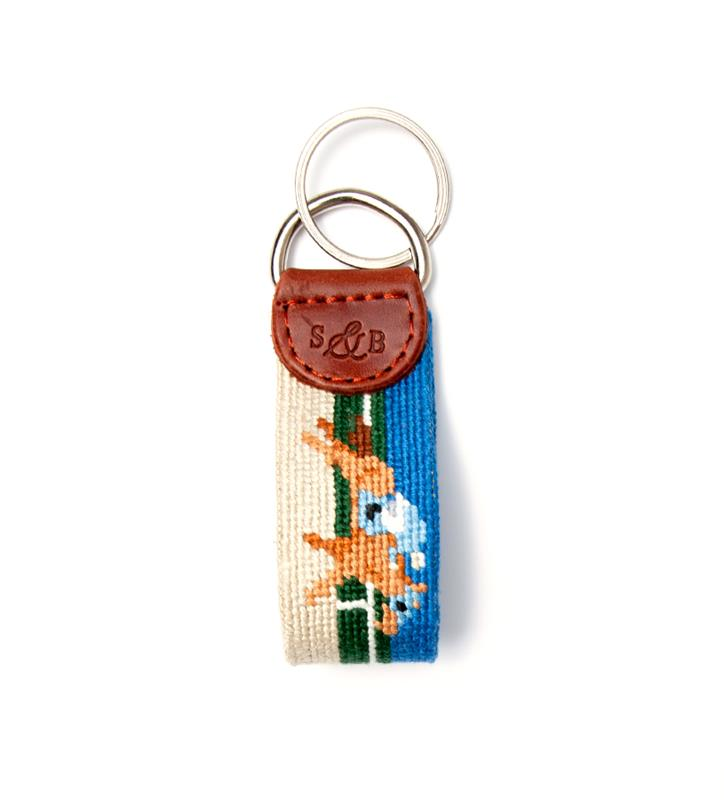 Derby Key Fob by Smathers & Branson,DERBY KEY FOB