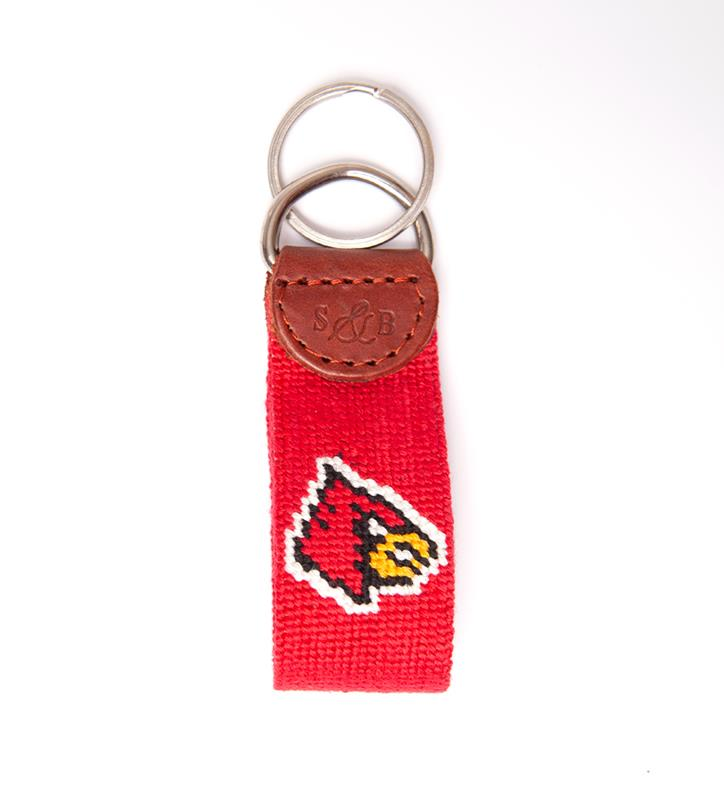 Louisville Cardinals Key Fob by Smathers & Branson,Smathers & Branson,CARDINAL KEY FOB