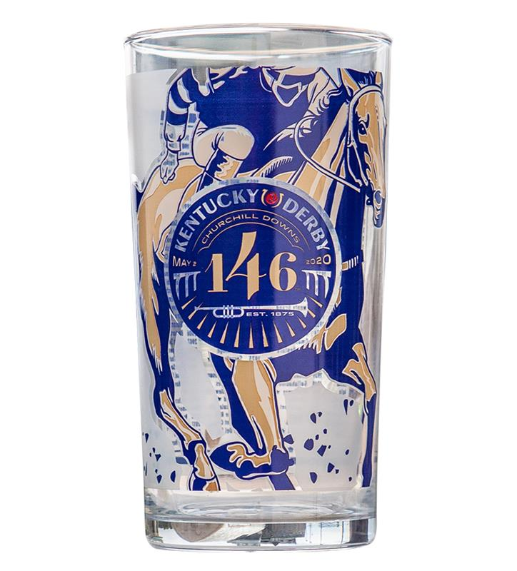 Kentucky Derby 146 Official Derby Glass,ER45 KD 146 JULEP