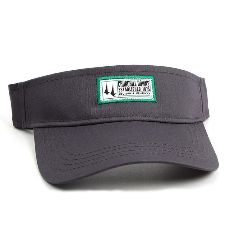 Churchill Downs Patch Logo Visor,C70LGT-530-IDVIN#119