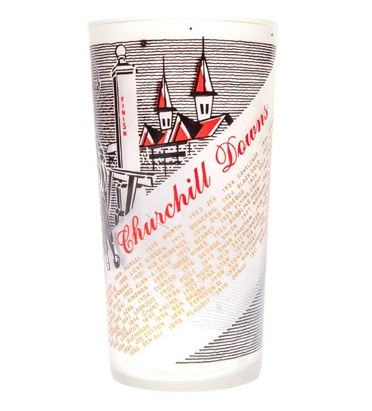 1961 Official Derby Glass,1961 GLASS