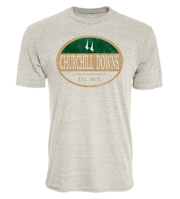 Churchill Downs Mail Carrier Triblend Tee,5F97