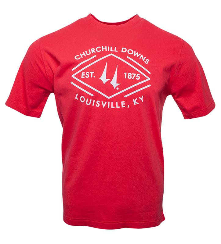 Churchill Downs Diamond Tee,AS38-8600-DOWNS#002