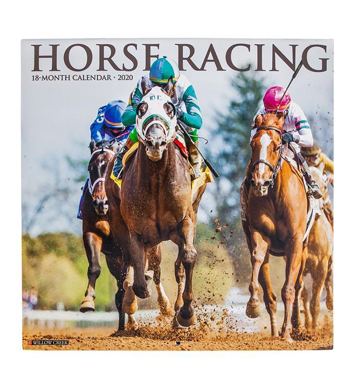2020 Horse Racing Calendar,06696