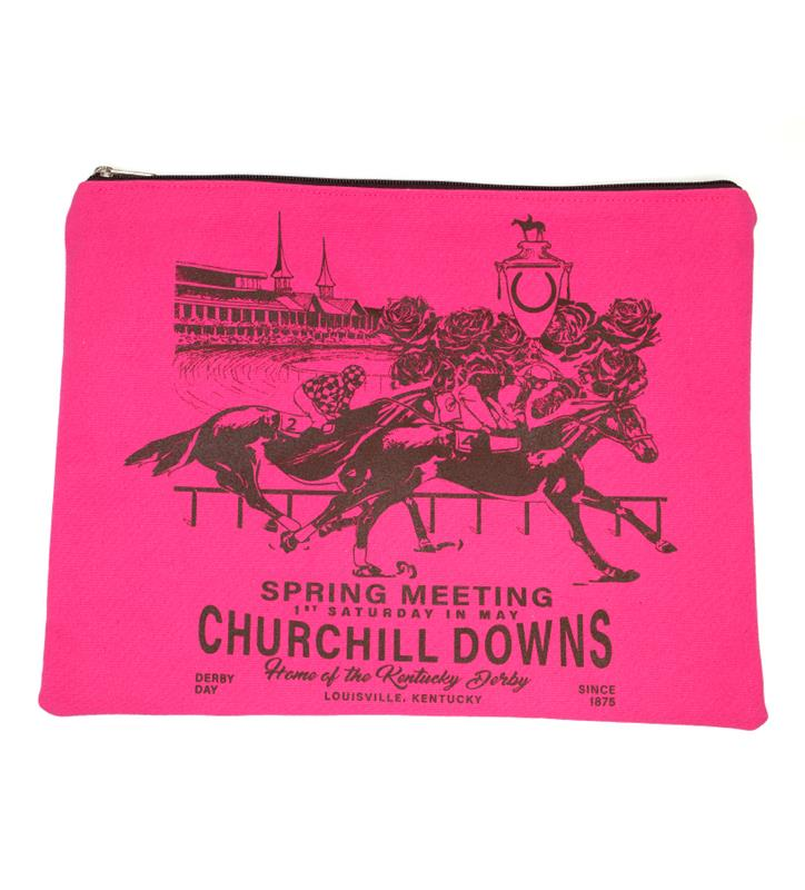 Churchill Downs Envelope Clutch by Rebecca Ray,Rebecca Ray,RR3105