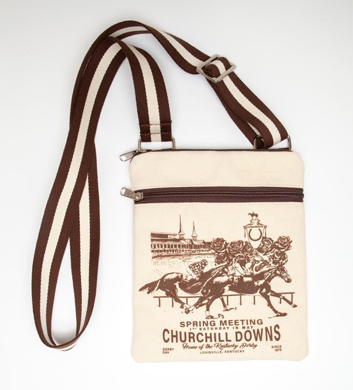 Churchill Downs Crossbody by Rebecca Ray,Rebecca Ray,RR3104