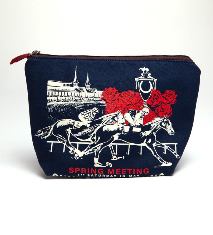Churchill Downs Cosmetic Bag by Rebecca Ray,Rebecca Ray,RR3107