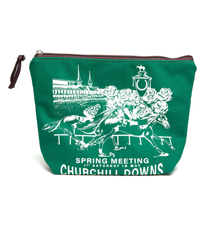 Churchill Downs Cosmetic Bag by Rebecca Ray,Rebecca Ray,COSMETIC BAG