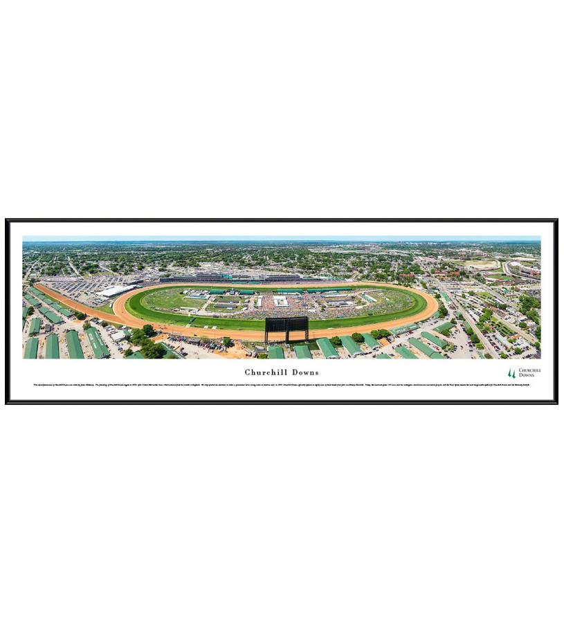 Churchill Downs Aerial Panorama,CD6-F