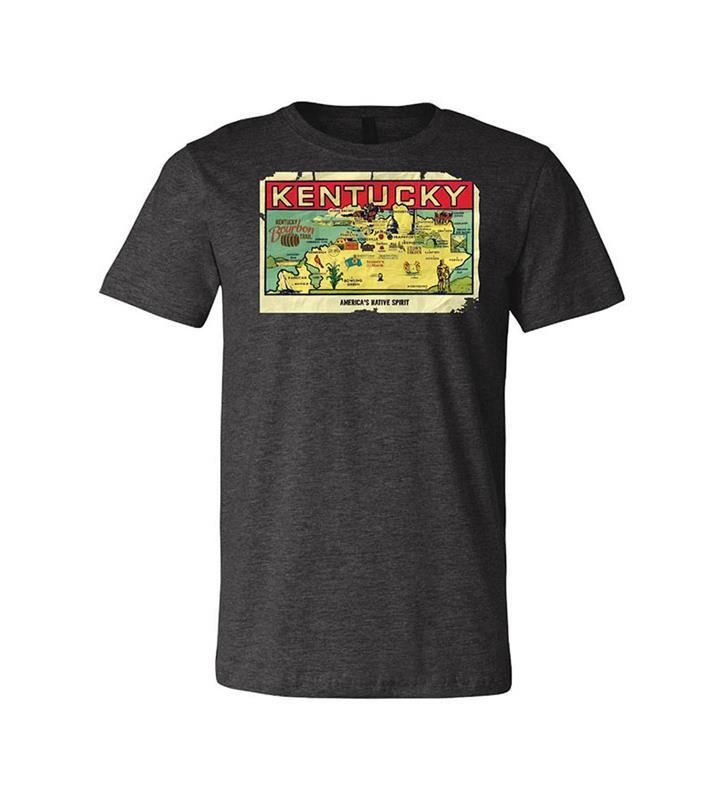 Retro Map Tee,KBT9009Q