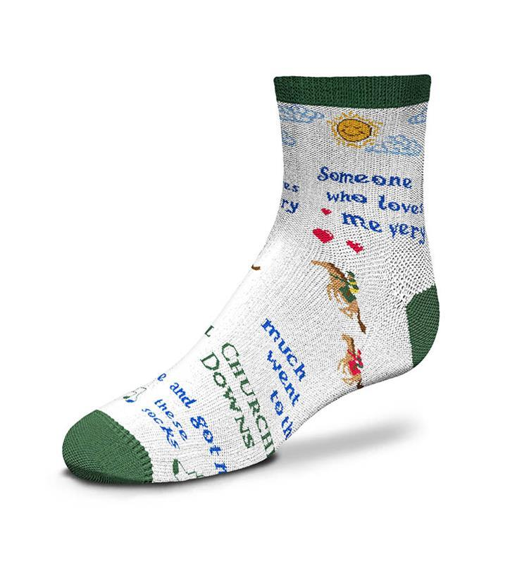 Churchill Downs Someone Who Loves Me Infant Sock,889536602298-903
