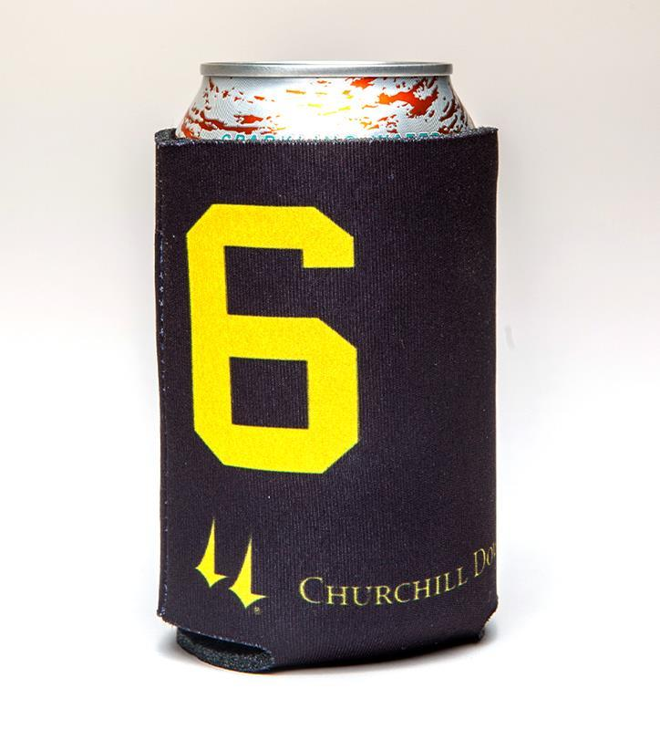 Churchill Downs Post 6 Coozie,123661AF-12115