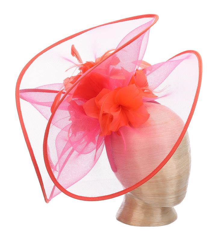 The Bellafina Fascinator,KDL7-FUCHSIA