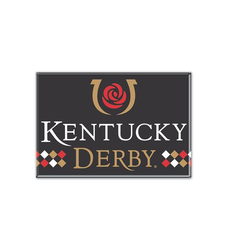 Kentucky Derby Icon Metal Magnet,23139317