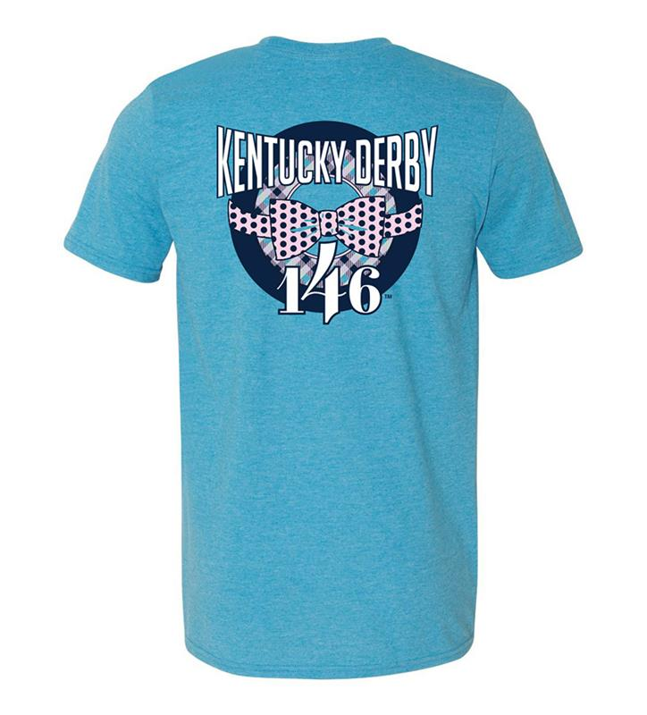 146 Kentucky Derby Bowtie Design Tee,KYM0041-15A