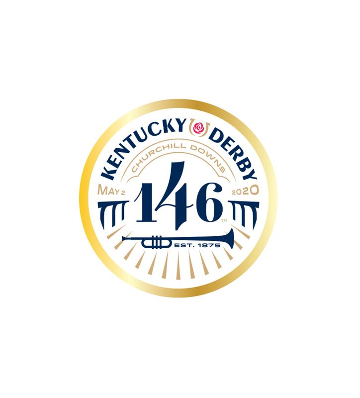 146 Kentucky Derby Event Logo Pin,KYN0136-30A