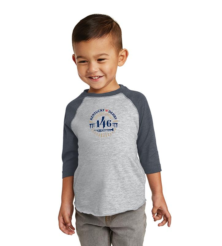 146 Kentucky Derby Toddler Event Logo Baseball Tee,KYY0110-20B