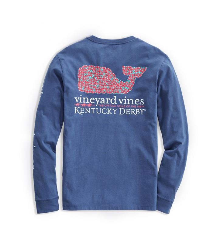2020 Long-Sleeve Bed of Roses Tee,Kentucky Derby 146-2020 Vineyard Vines Collection,1V011253