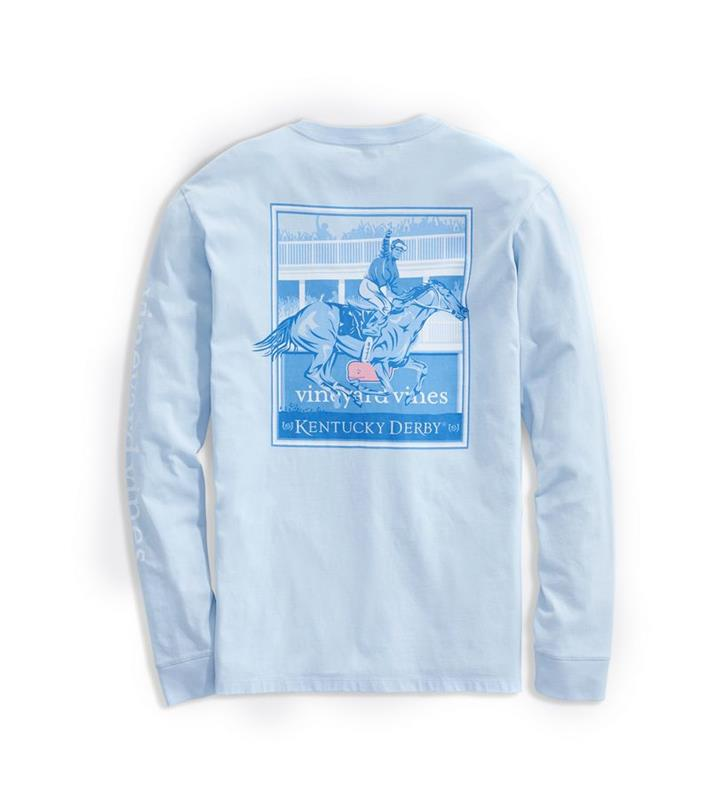 2020 Long-Sleeve Finish Line Tee,Kentucky Derby 146-2020 Vineyard Vines Collection,1V011254