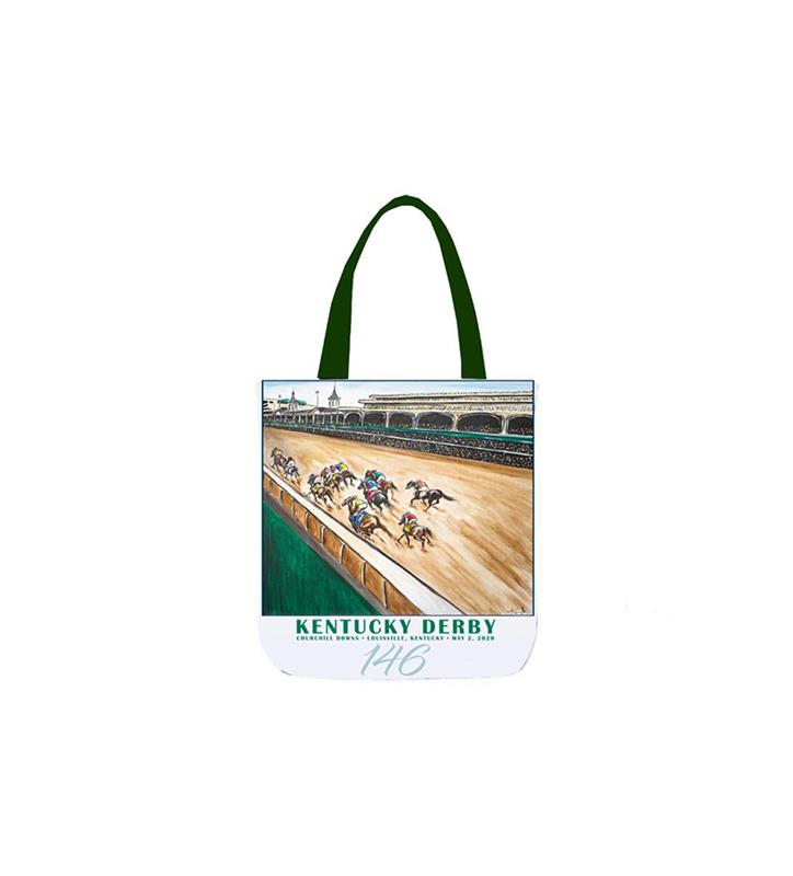 146 Art of the Derby Tote,Kentucky Derby 146-2020 Art of the Derby,AKY-A0050-14C