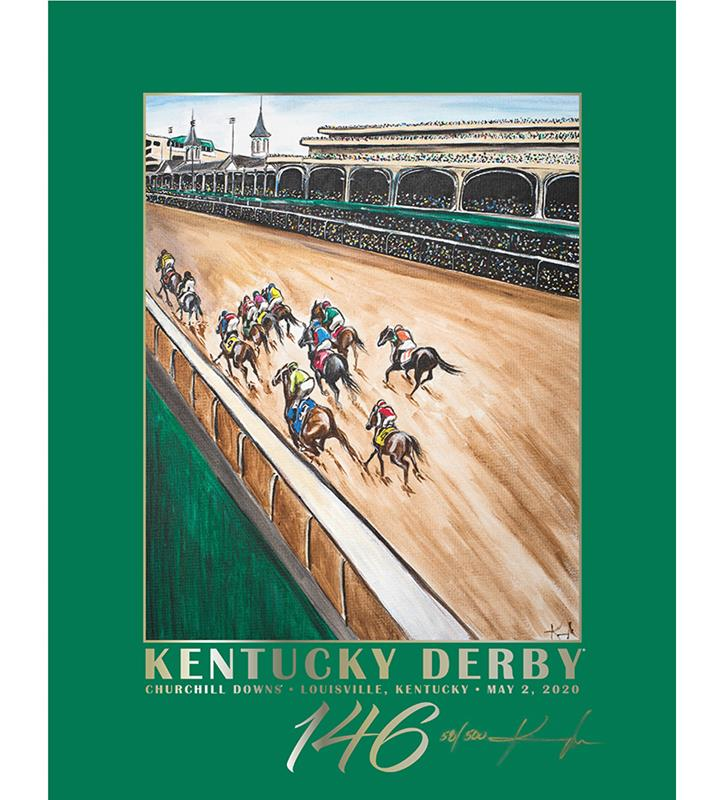 146 Art of the Derby Limited Edition Poster,AKY-N0021-10A