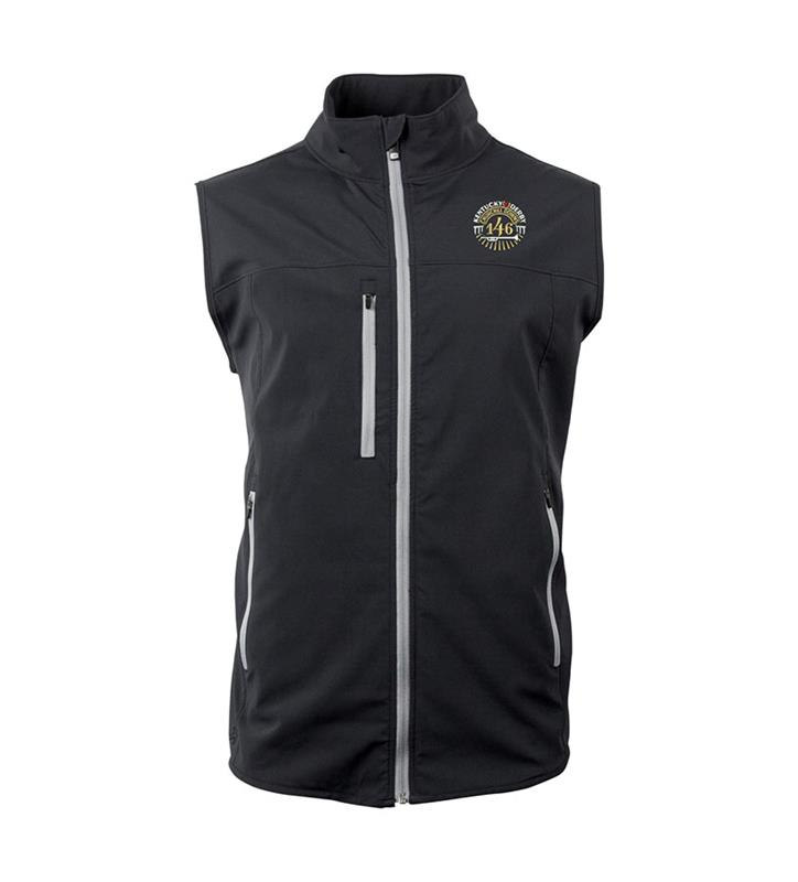 Mens Kentucky Derby 146 Fitchburg Full Zip Vest,M001-100