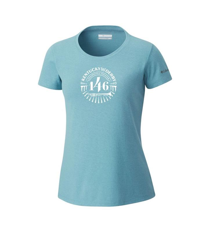 Kentucky Derby 146 Ladies' Solar Shield Tee,C1990WTSOLAR-459